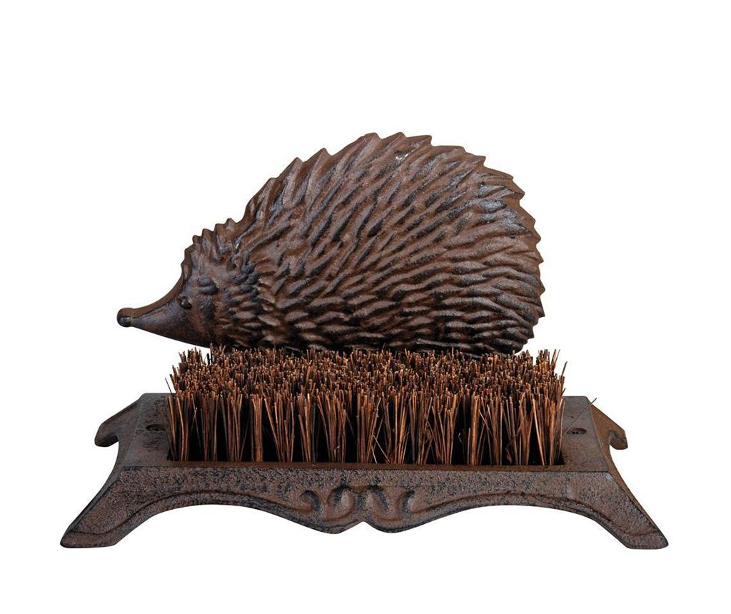 Curatator pentru incaltaminte Hedgehog - Esschert Design, Maro