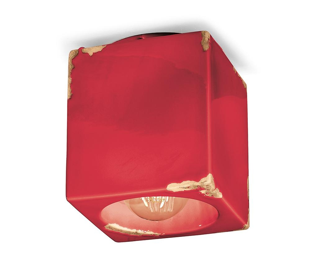 Plafoniera Vintage Cubo Red