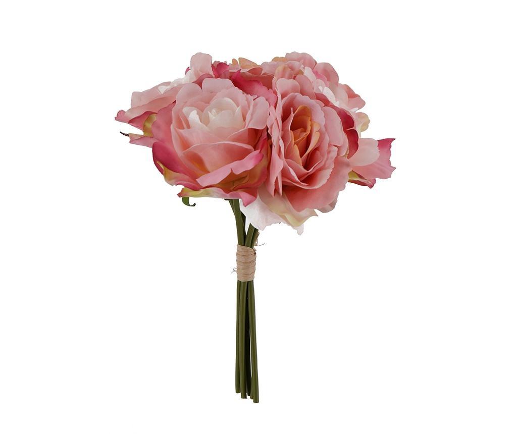 Šopek iz umetnega cvetja Rose