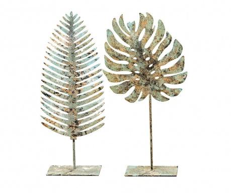 Zestaw 2 dekoracji Leaf Novo
