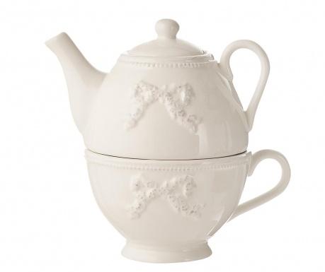Set čajnik sa šalicom Onne White