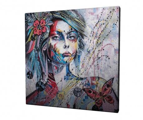 Obraz Flower Girl 45x45 cm