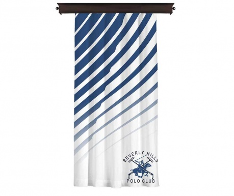 Zastor Polo Club Dark Blue 140x260 cm