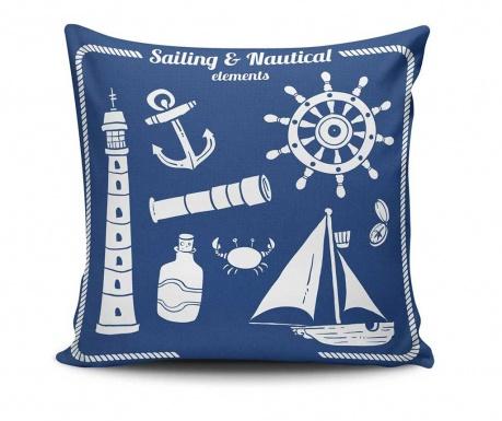 Perna decorativa Sailing and Nauticla Elements 45x45 cm