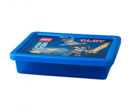 Škatla s pokrovom Lego Nexo 6.2 L