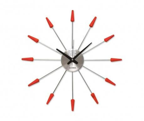 Nástěnné hodiny Oli Red