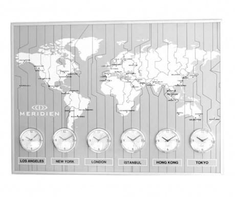 Nástěnné hodiny Meridien Grey