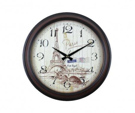 Nástěnné hodiny Paris Black