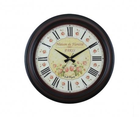 Nástěnné hodiny Maison Florette Black