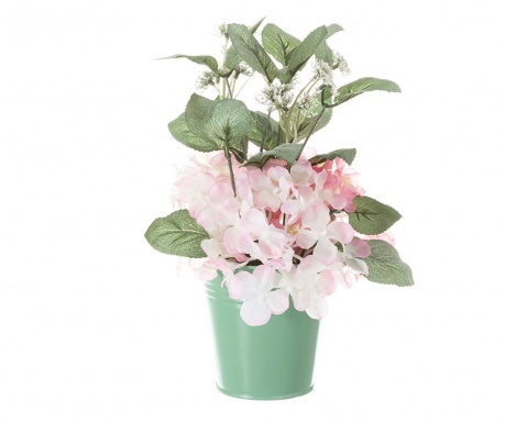 Floare artificiala in ghiveci Geranio Pink