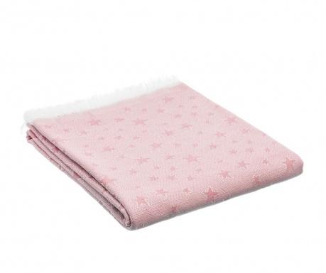Prekrivač Stars Pink 180x290 cm