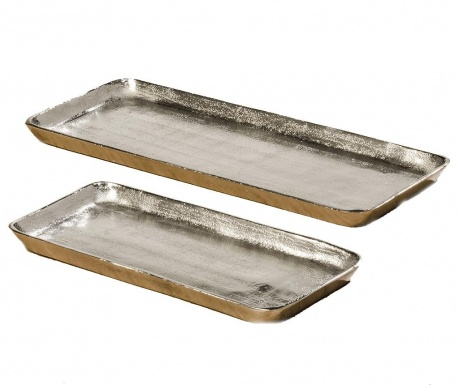 Set 2 platouri decorative Vendi