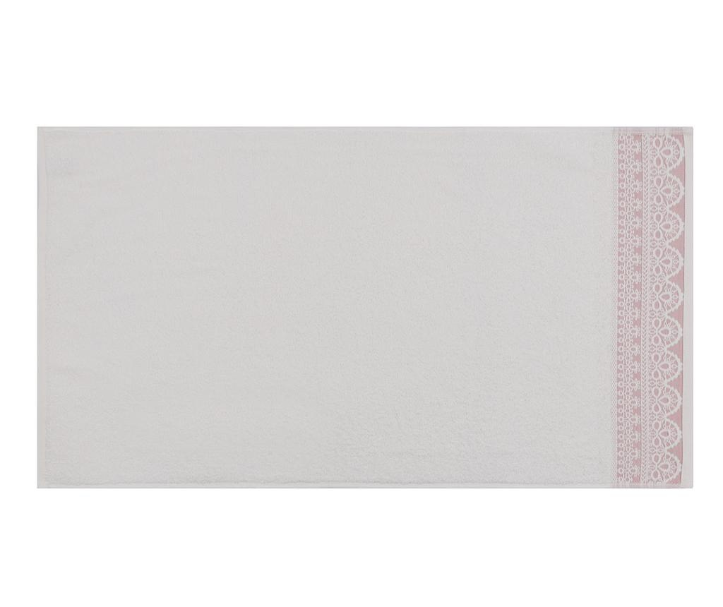 Elif Pink 2 db Fürdőszobai törölköző 50x90 cm