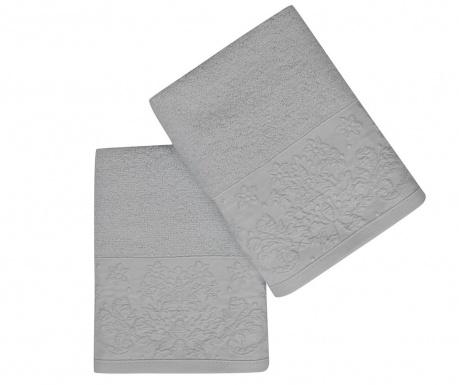 Set 2 kupaonska ručnika Saltanat Mint 50x90 cm