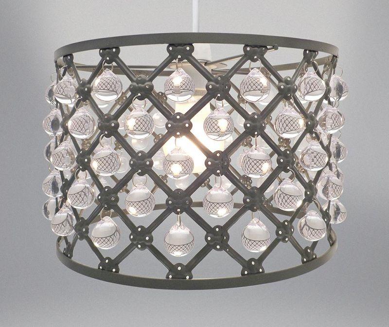 Senčilo za svetilko Bijou Grey S