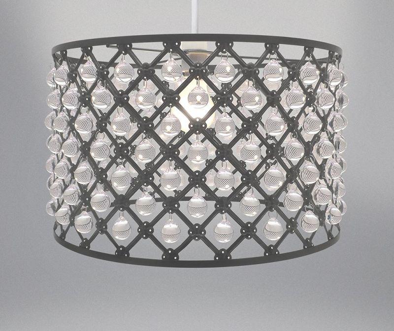 Senčilo za svetilko Bijou Grey M