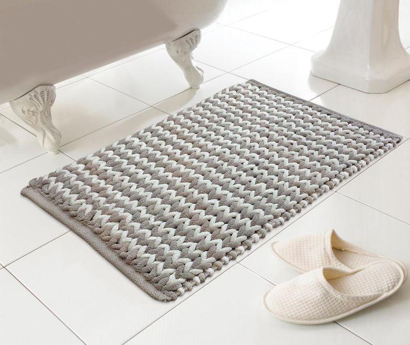 Килимче за баня Helena Latte 46x76 см