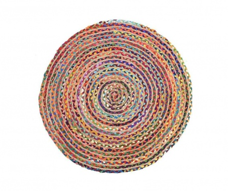 Covor tip pres Ethno Round 90 cm