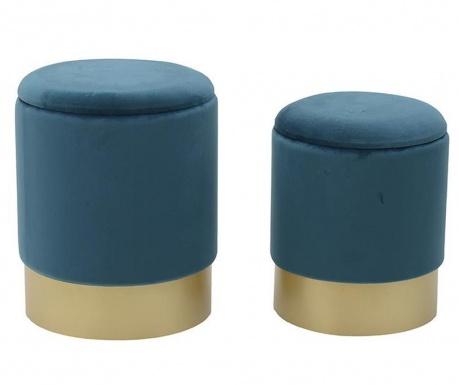 Set 2 taburejev Elegance Petroleum