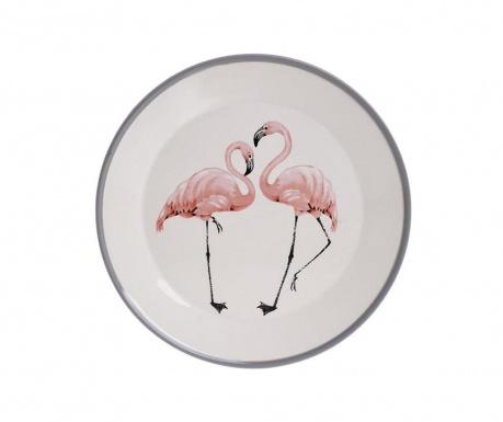 Talerz płaski Flamingo