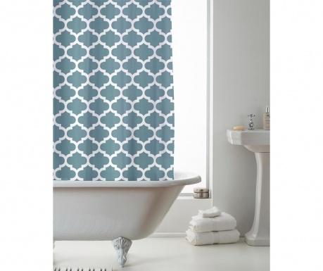 Zavjesa za tuš Moroccan Teal 180x180 cm