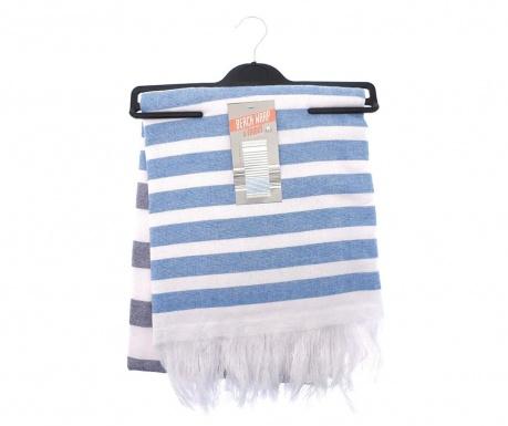 Πετσέτα θαλάσσης Beach Stripe Navy Blue 85x160 cm