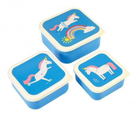Set 3 posude Unicorn