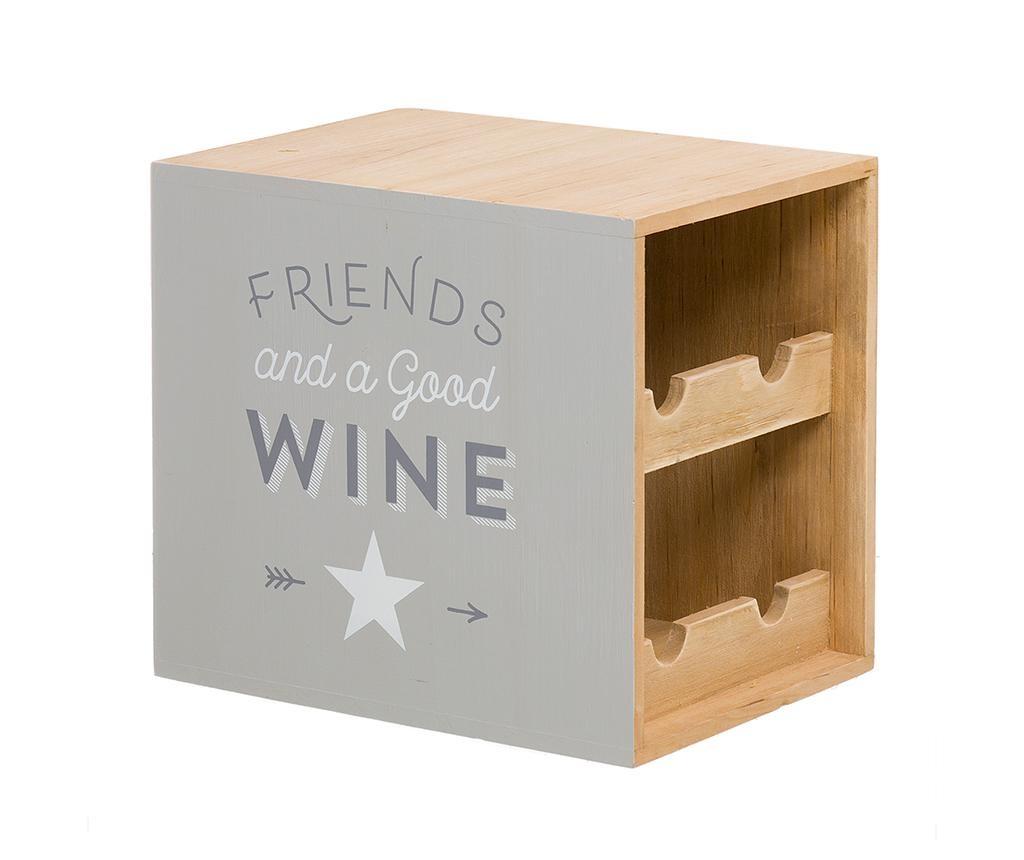 Suport pentru sticle de vin Good Wine Four