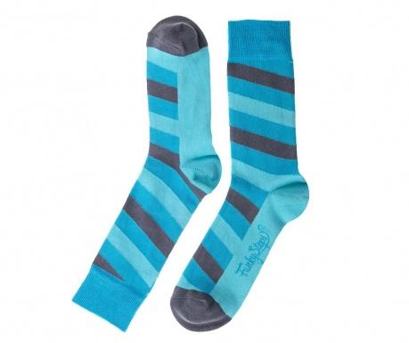 Skarpety męskie Aqua Stripes 41-45