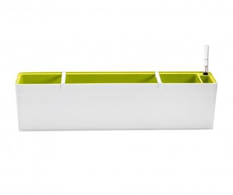 Žardinjera sa sistemom samozalijevanja Berberis Duo Long White Green