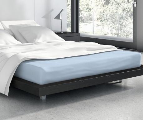 Σεντόνι κρεβατιού με λάστιχο Vanille Blue
