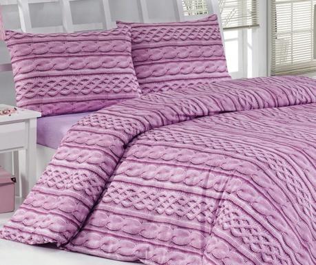Σετ κρεβατοκάμαρας Διπλό Satin Tweed Lilac