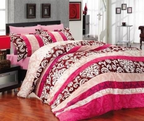 Σετ κλινοσκεπάσματα Μονό Extra Supreme Satin Classic Pink