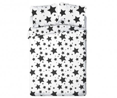 Σετ κλινοσκεπάσματα Μονό Extra Supreme Ranforce Stars Black White