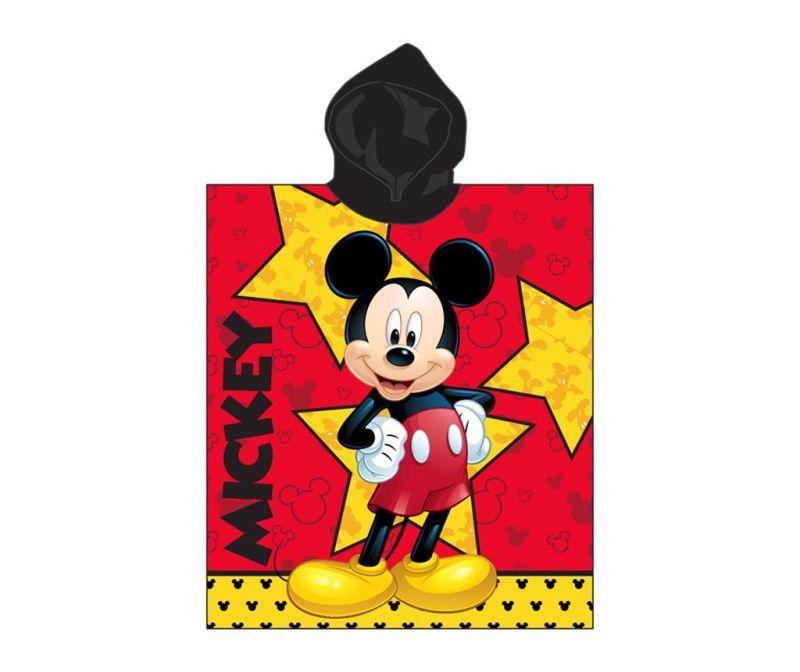 Prosop poncho copii Mickey Mouse Star