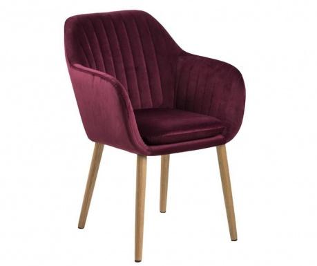 Židle Emilia Bordeaux