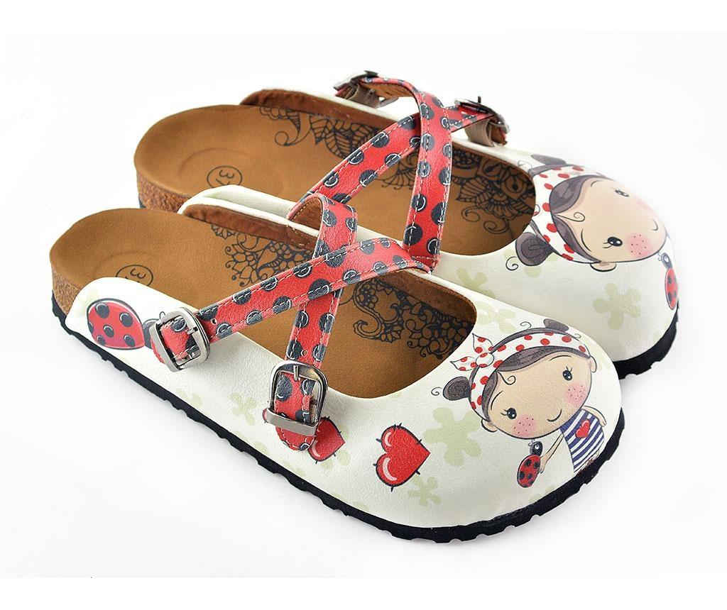 Dámské uzavřené pantofle Kristen 35