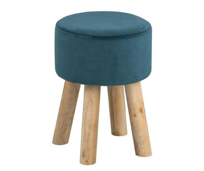 Scaunel Maren Round Dark Turquoise