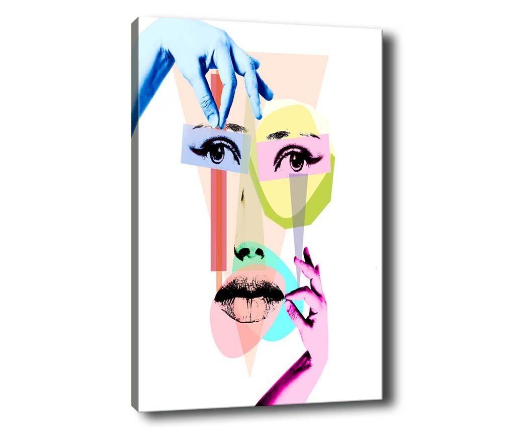 Obraz Face Collage 40x60 cm