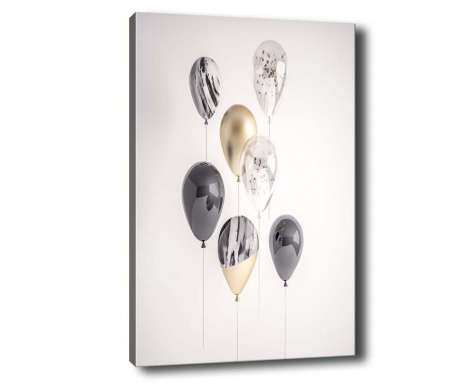 Party Balloons Kép 40x60 cm