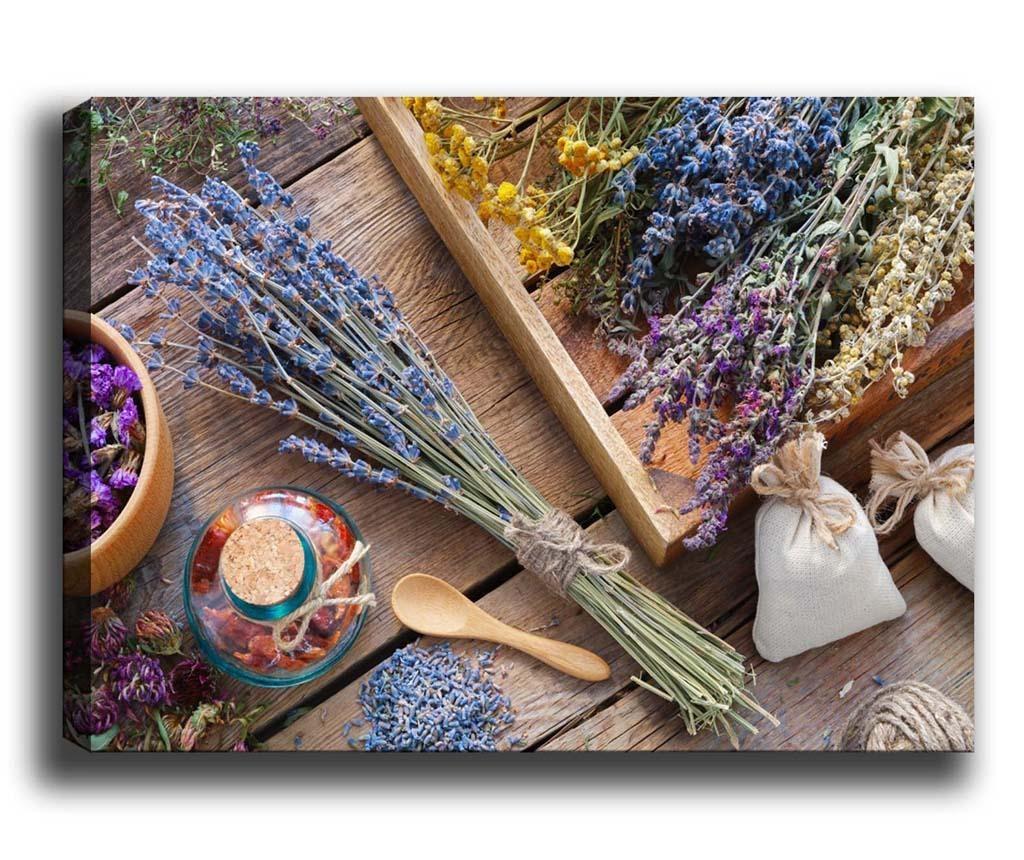 Tablou Lavender Bouquet 100x140 cm