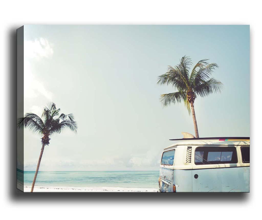 Van by the Beach Kép 100x140 cm