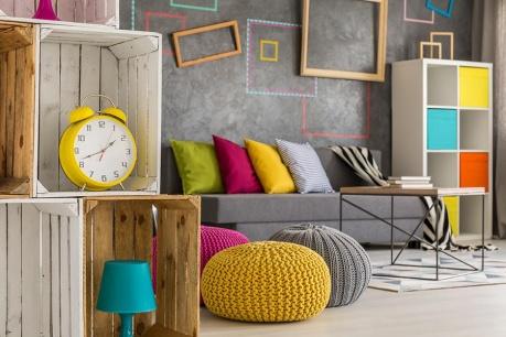 Inspirace Piet Mondrian
