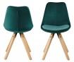 Set 2 stolice Dima Soft Bottle Green