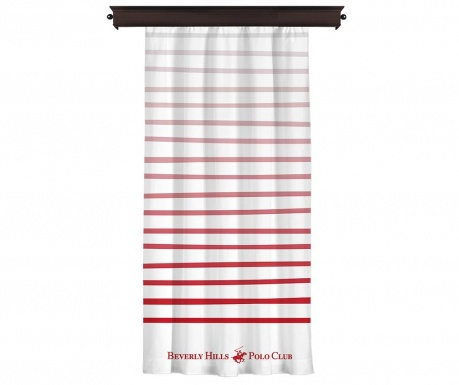 Draperie Polo Club Red 140x260 cm