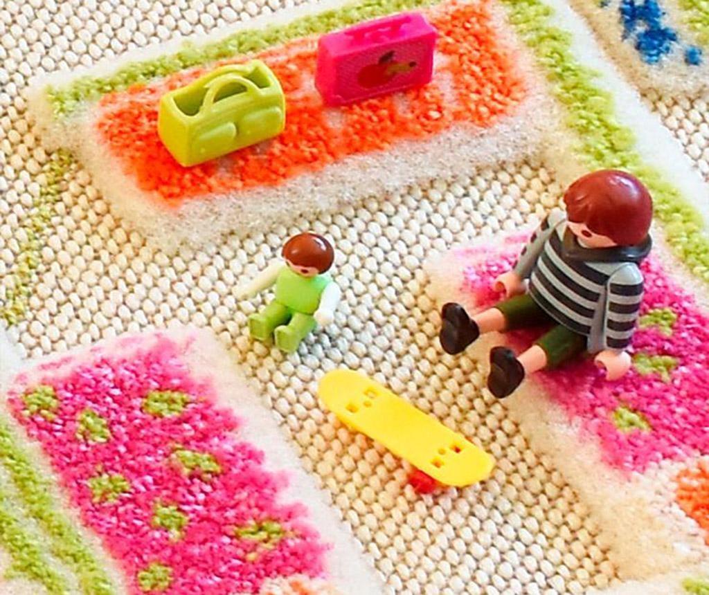Playhouse S 3D Pink Játszószőnyeg 80x150 cm