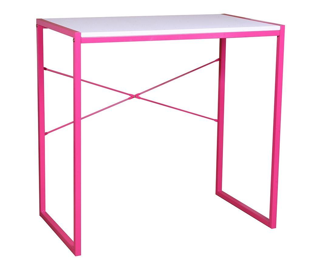 Otroška pisalna miza Betty Pink