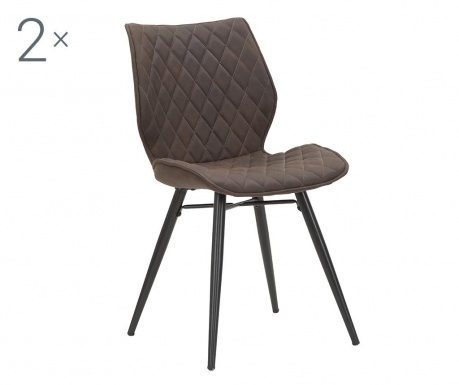 Zestaw 2 krzeseł Underground