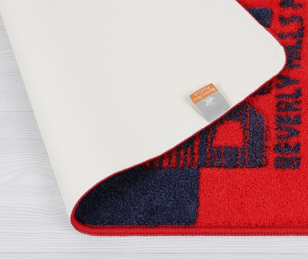 Calder Red Blue Fürdőszobai szőnyeg 57x100 cm