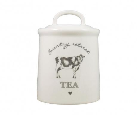 Nádoba s víkem na čaj Country Retreat